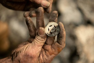 Honeymoon coin found after Camp Fire