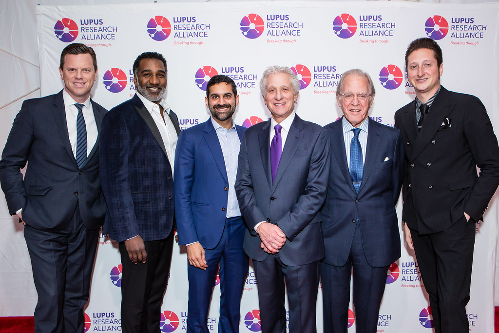 Willie Geist, Norm Lewis, Nadeem Meghji, William Wolfe, Richard DeScherer, Brian Newman