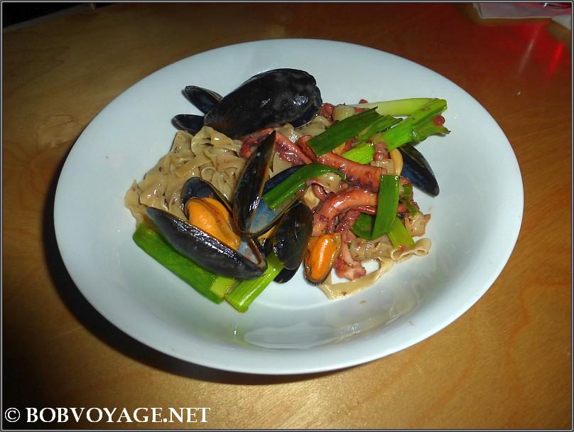 פסטה פירות ים ב- סמילה (samila)