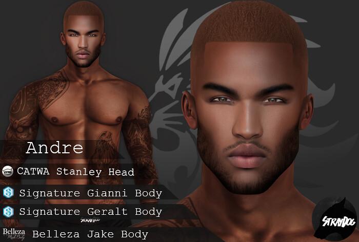 | LANZARINI | Andre Shape (Signature / Belleza & CATWA Stanley)