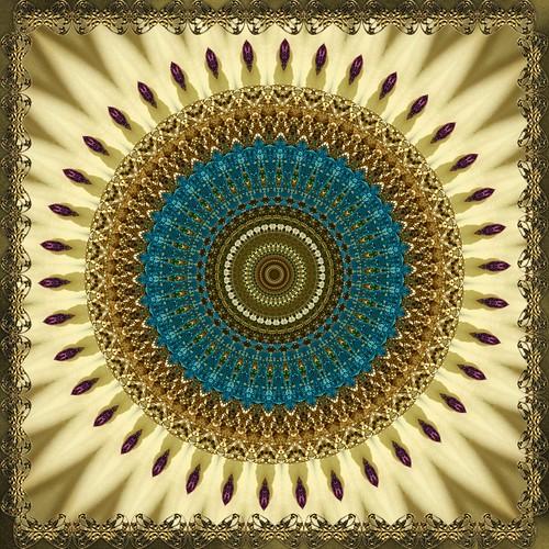 Kaleidoscope Mandala from Kaleidoscope Lime Android App