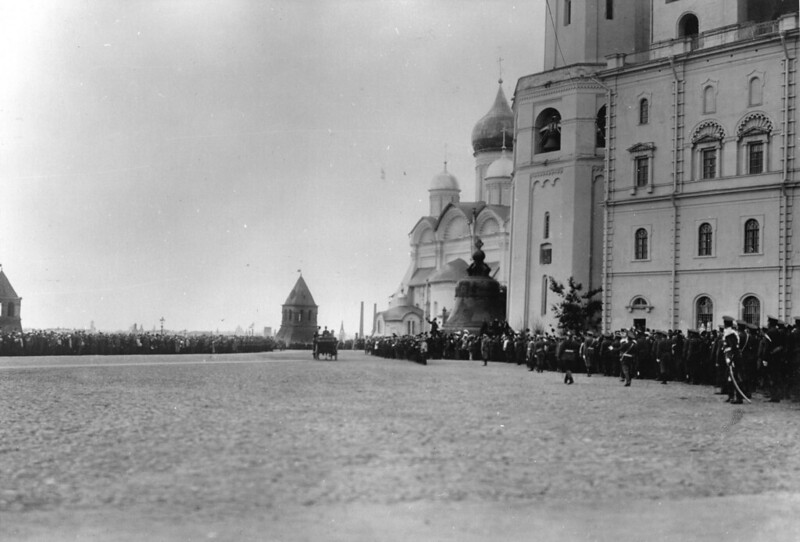 1912. Торжества по случаю открытия памятнику императору Александру III в Москве