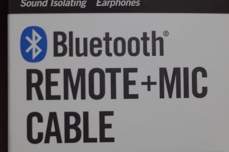 SHURE BLUETOOTH REMOTE+MIC CABLEロゴ