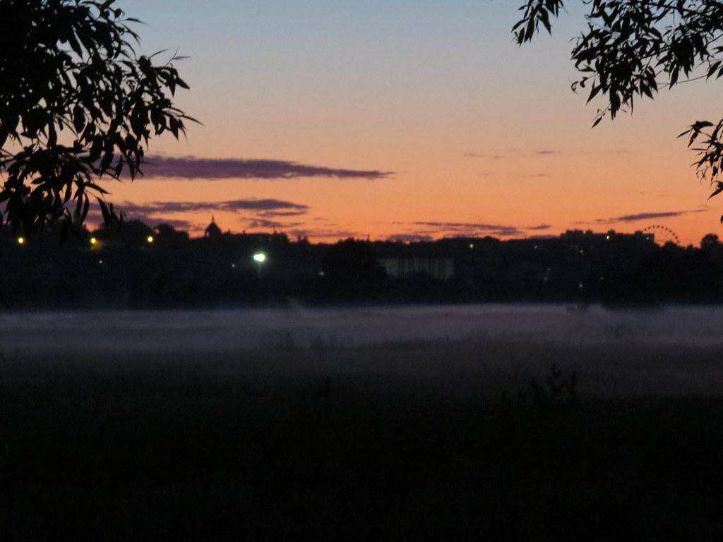 Туман в пойме