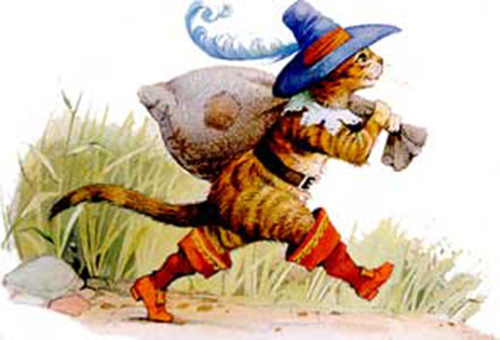 Кот в сапогах фото