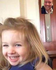 Facetimes with the almost birthday girl... #consolation #gratitude