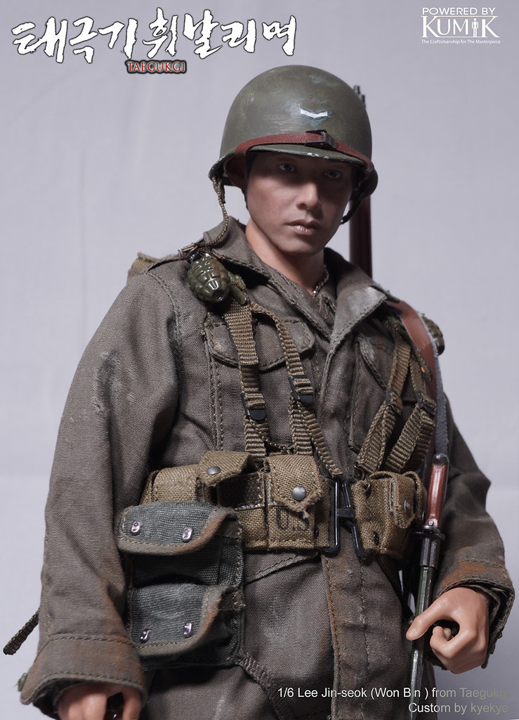 1/6 Scale 2 Brothers from Korean War movie 'Tae Guk Gi: The Brotherhood of War' 45917710324_cab407a51f_b