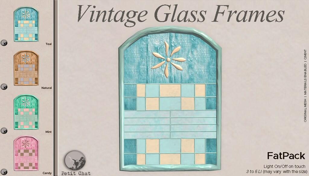 Vintage Glass Frames @ TCF - TeleportHub.com Live!