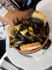 Mussels in Turin