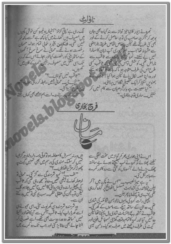 Maan Complete Novel By Farah Bukhari