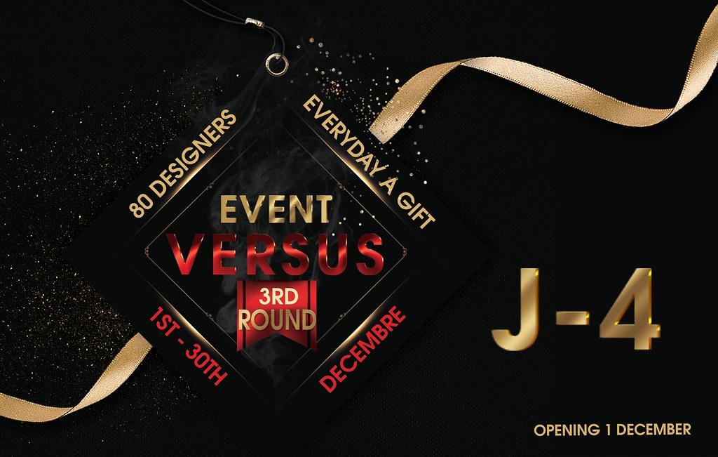 Versus Event 3rd Round J-4