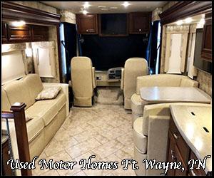 Motor homes in Ft. Wayne
