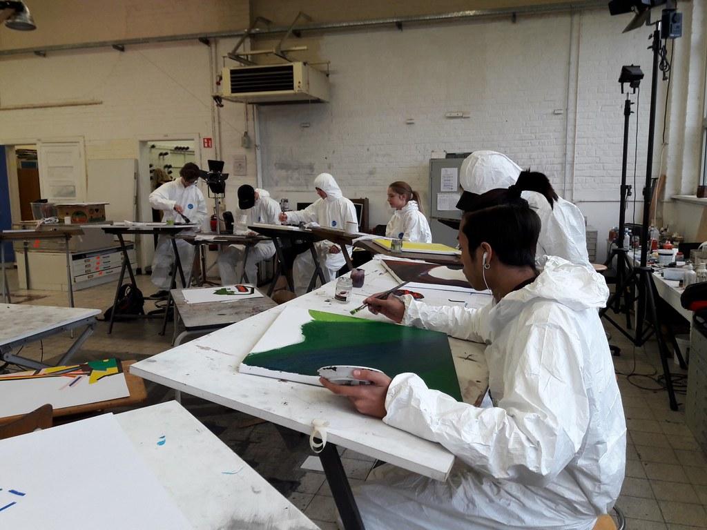 sessie 3 schilderen op doek (5)