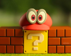 Interrogative Eyes: But Where is Mario?