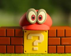Interrogative Eyes: But Where is Mario?