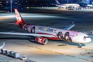 Air Asia X / A330-343 / 9M-XXB / HND