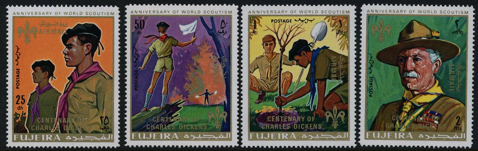 Fujeira - Michel #517-520 (1970)