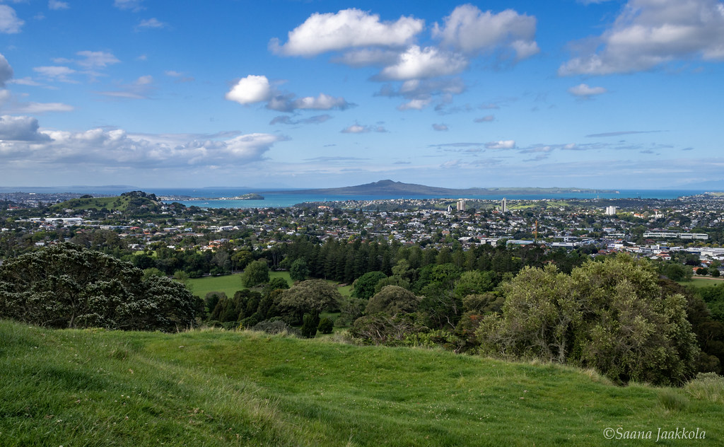 My month in New Zealand | View over Auckland