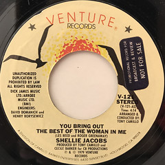 SHELLIE JACOBS:YOU BRING OUT THE BEST OF THE WOMAN IN ME(LABEL SIDE-A)
