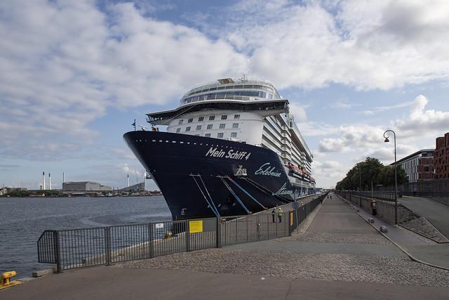 MeinSchiff4 in Kopenhagen