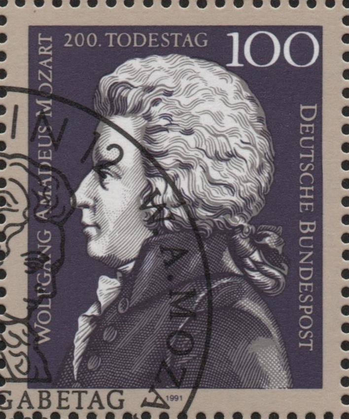 Germany - Scott #1691 (1991) stamp digitally cropped from the souvenir sheet