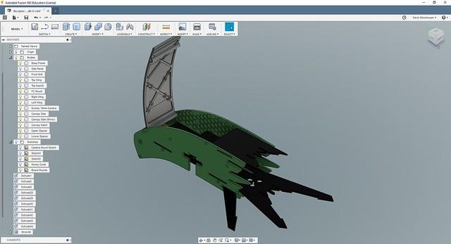 Bicopter Camera Canopy V1 (image 3)