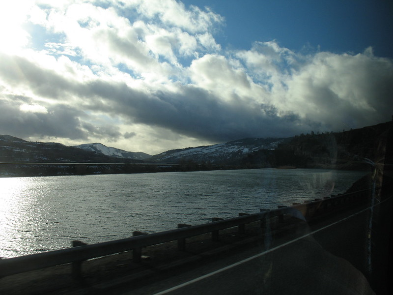 Return journey along the Columbia River