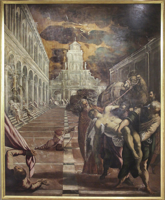 Theft of the body of St. Mark(1562-66), Jacopo Tintoretto,