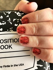 Simple fall weather nails :maple_leaf: