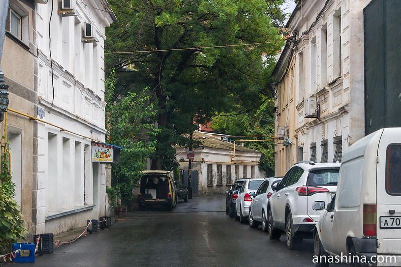 Одна из улиц Балаклавы, Крым