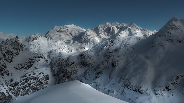 Belledonne snowscape