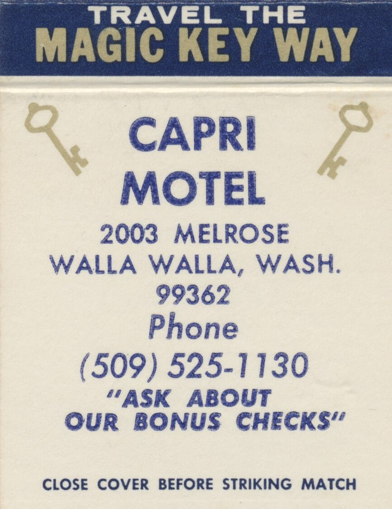 Capri Motel - Walla Walla, Washington