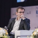 Pierre Lahutte during the plenary session 1 at IRU World Congress