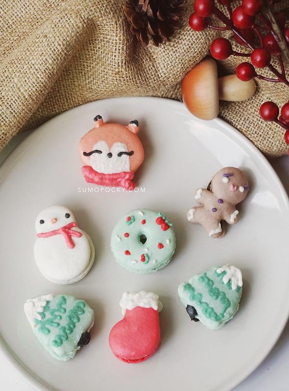 christmas macarons singapore