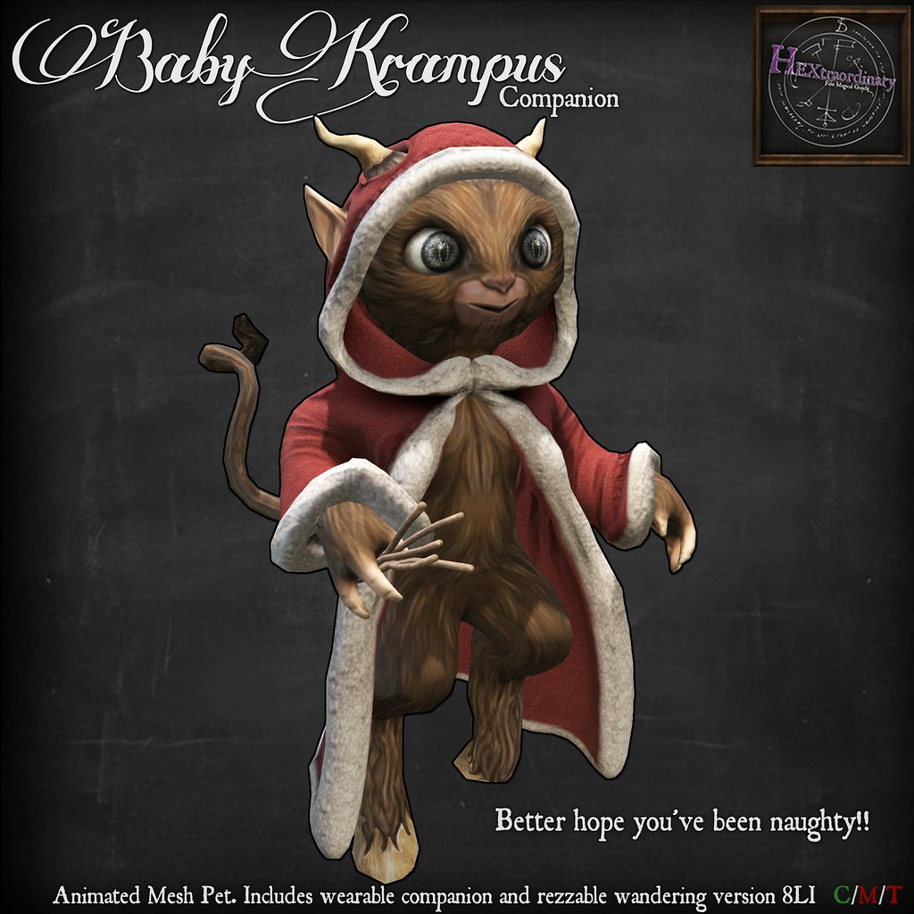 Baby Krampus Companion!