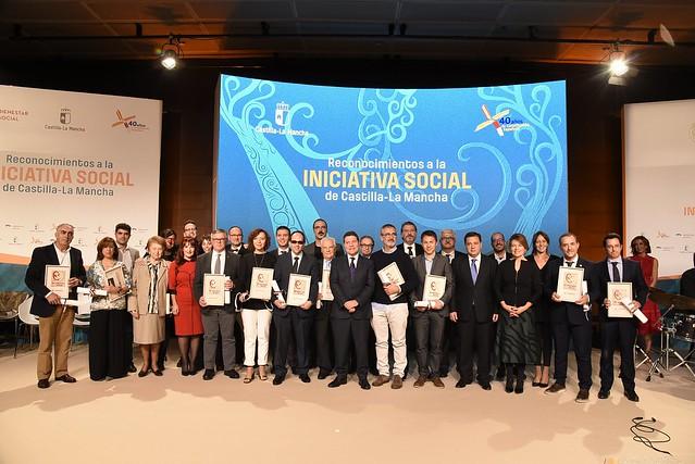 Entrega de los Reconocimientos a la Iniciativa Social 2018 de la Junta de Comunidades