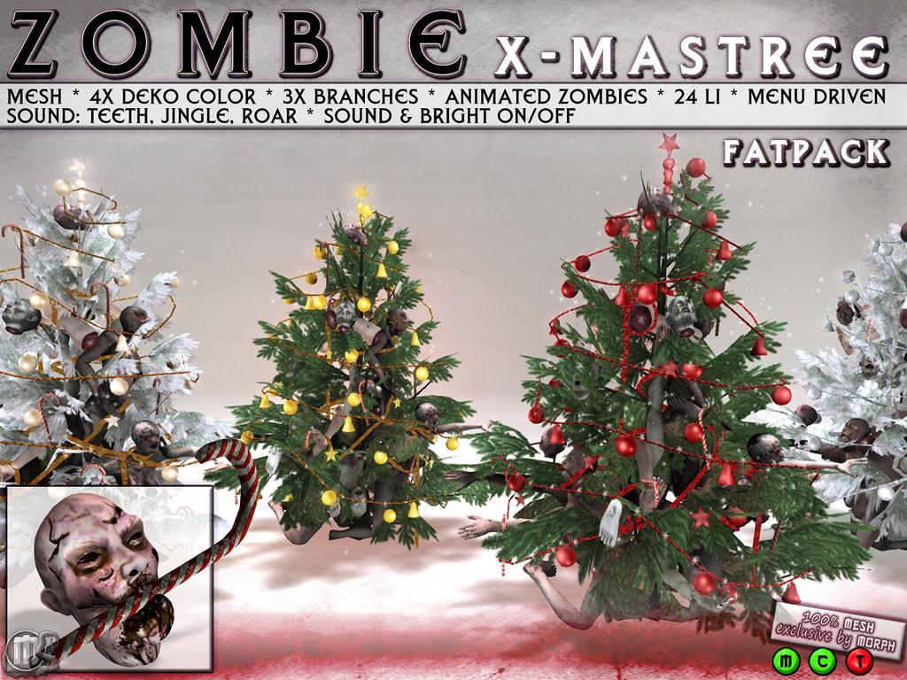 0o Morph Zombie Xmas tree FATPACK