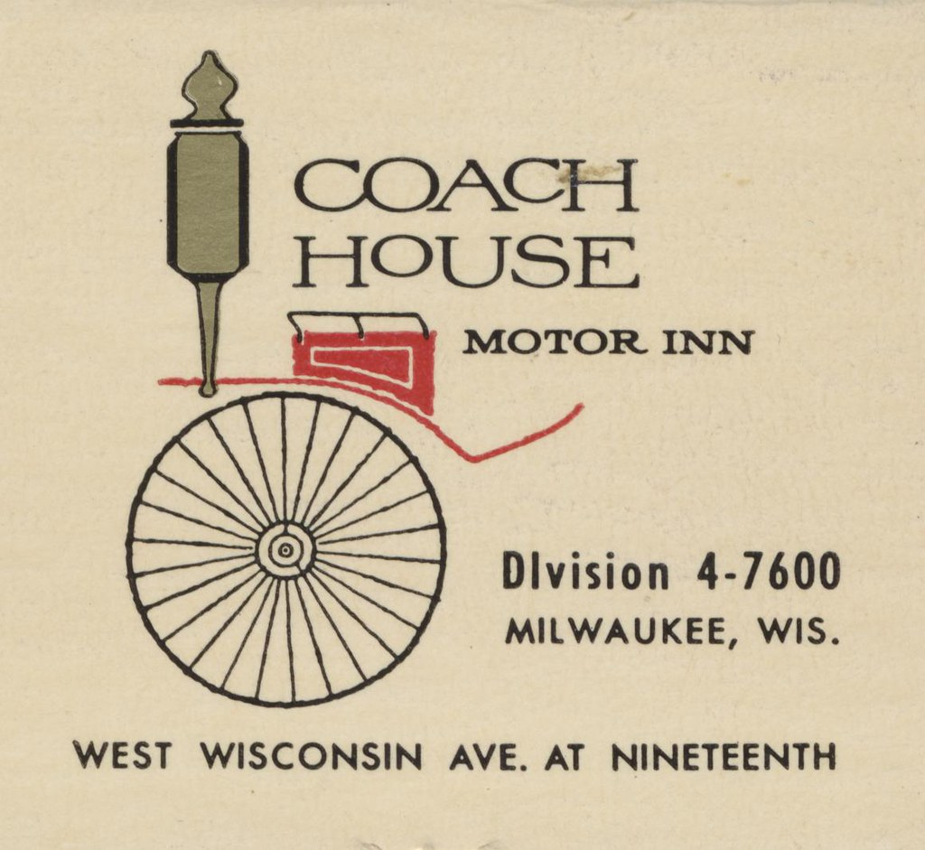 Coach House Motor Inn - Milwaukee, Wisconsin