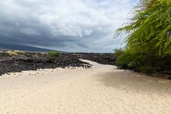 Mahaiula beach walk Big island, Hawaii