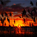 Sunset  at the  Lake  Poenitz by Ostseetroll