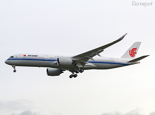 F-WZFS Airbus A350 Air China