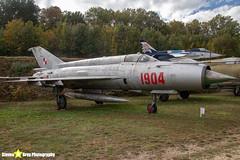 1904---961904---Polish-Air-Force---Mikoyan-Gurevich-MiG-21M---Savigny-les-Beaune---181011---Steven-Gray---IMG_5639-watermarked