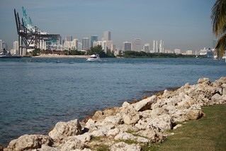 Port Of Miami From South Point Park | by earthandmain