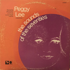PEGGY LEE:SYLVANIA PRESENTS... THE SOUNDS OF THE SEVENTIES(JACKET A)