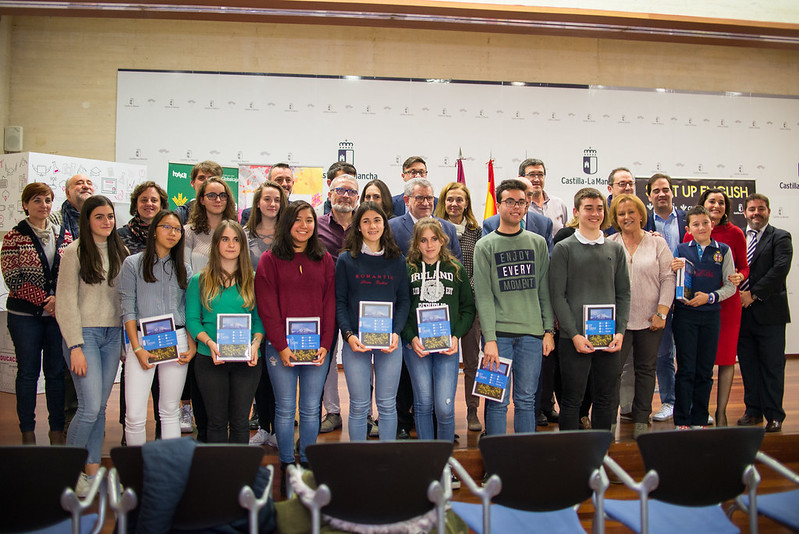Start Up English 2018. Entrega de premios