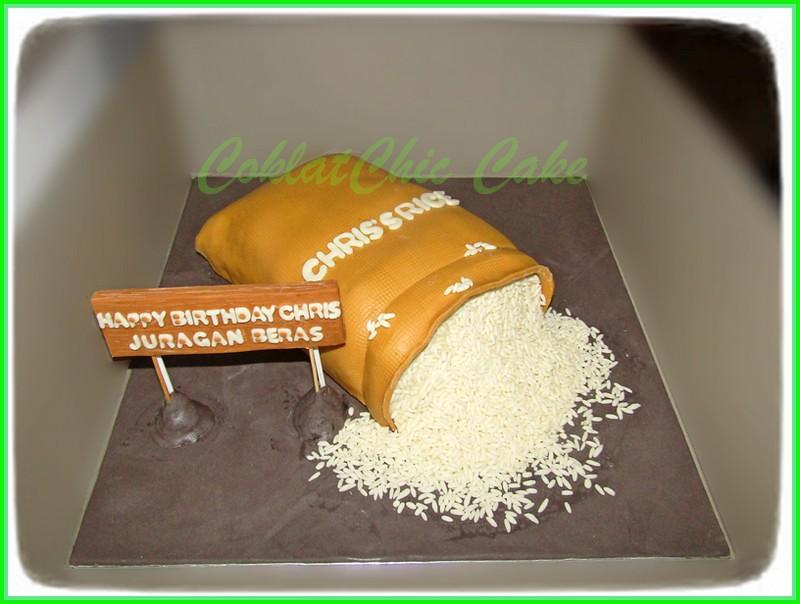 Cake Karung Beras CHRIS 20 cm
