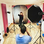Photographer in our studio