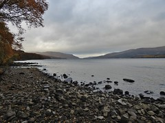 Loch Rannoch in Perthshire, Scotland - October 2018