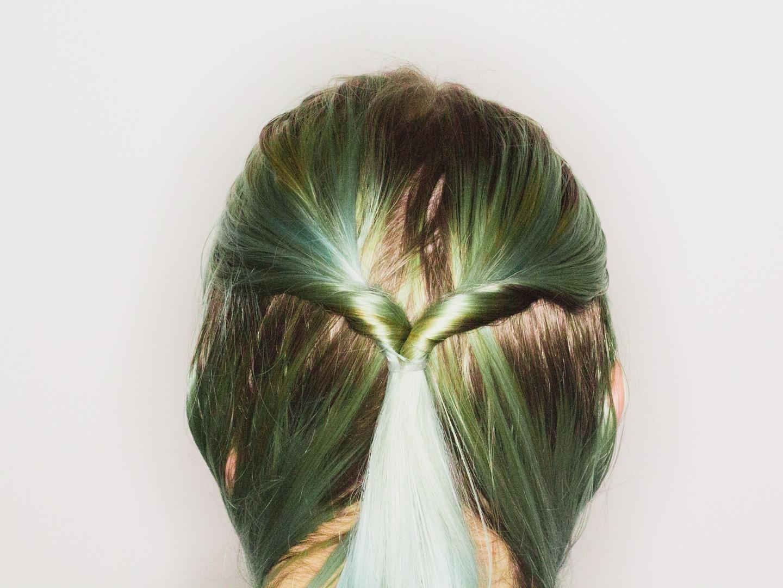 Verdeel je haar