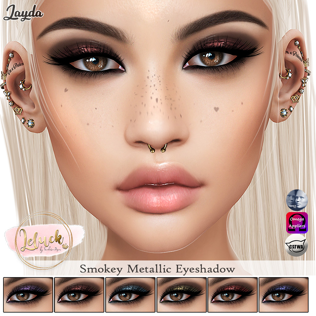 [LeLuck]Smokey Metallic Eyeshadow Jayda